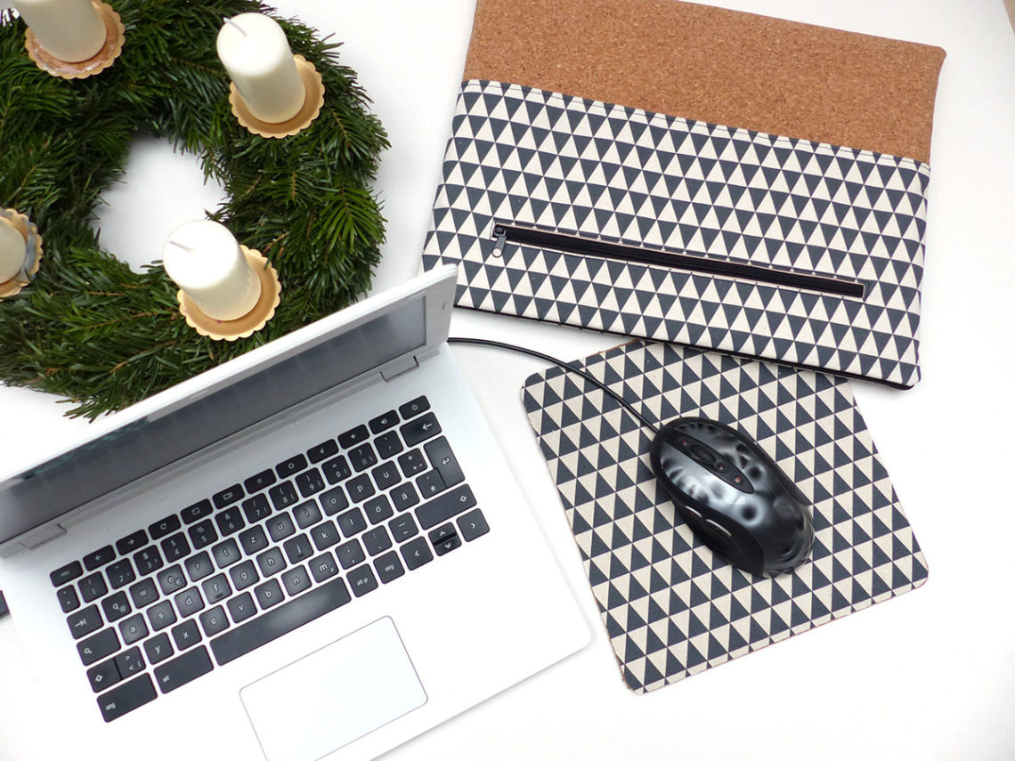diy mousepad aus kork selber machen n hwiesel. Black Bedroom Furniture Sets. Home Design Ideas